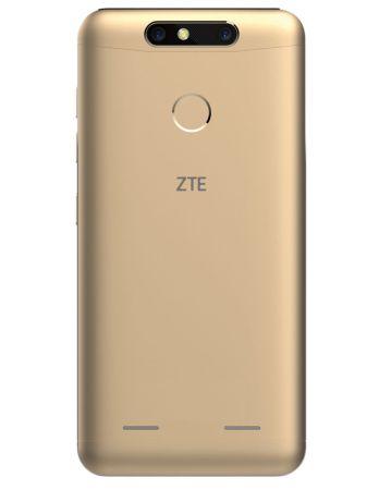 ZTE presenta el nuevo Blade V8 mini en México - blade-v8-mini-dorado-back