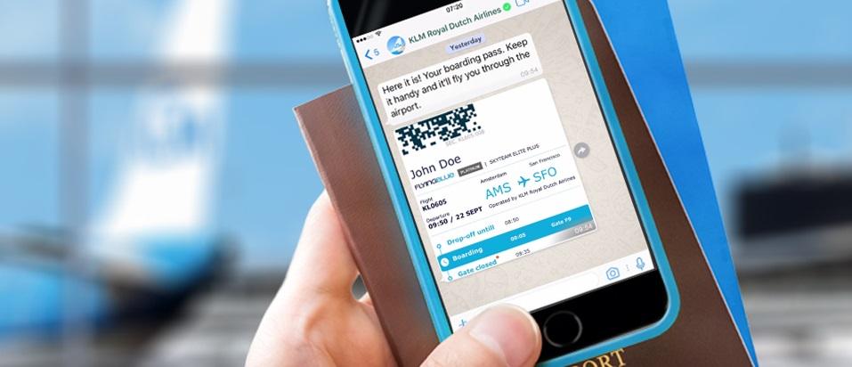 Ahora ya puedes confirma tu vuelo KLM, ¡por Whatsapp! - boardingpass-whatsapp