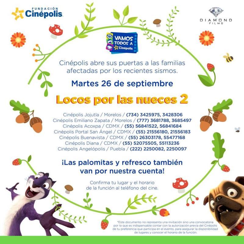 Las acciones de Cinépolis en apoyo a las víctimas de los sismos - cinepolis-funcion-800x800