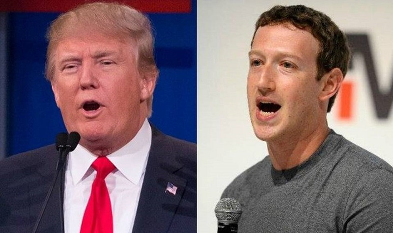 Trump ataca a Facebook y Zuckerberg contesta - cover-trump-et-zuckerberg-0301171001479490942-800x474