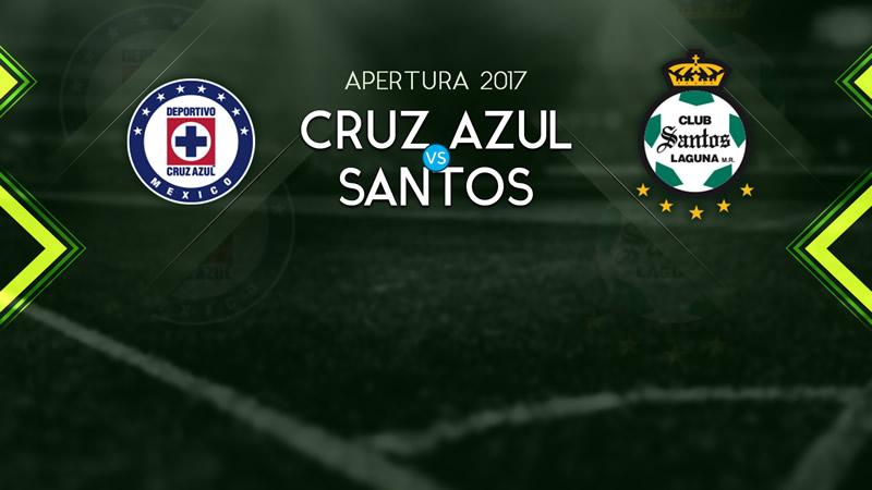 Continúa invicto Cruz Azul tras vencer a Santos