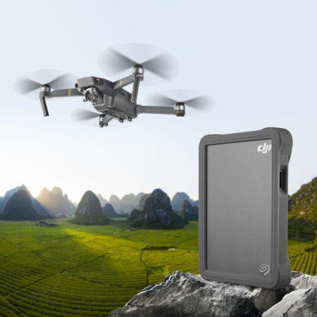 Seagate presenta el nuevo DJI Fly Drive