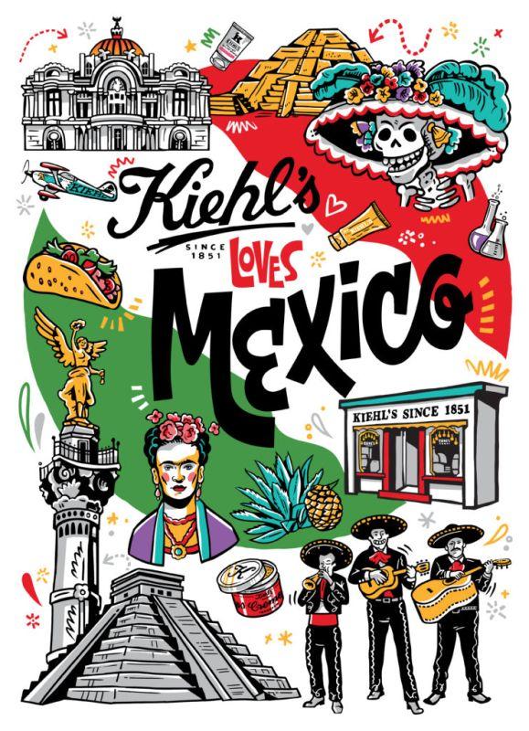 kiehls loves mexico 579x800 Kiehls Loves México, emblemática campaña para celebrar el amor por México