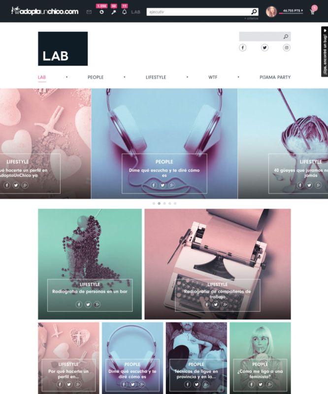 App AdoptaUnChico facilita los encuentros digitales con su nueva búsqueda mágica - lab-adoptaunchico-666x800