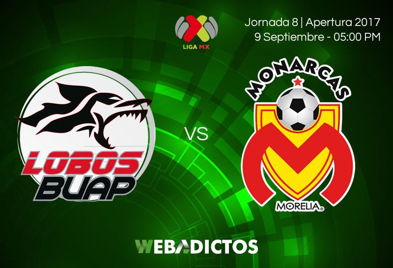 lobos buap vs morelia j8 apertura 2017 Lobos BUAP vs Morelia, Jornada 8 de Liga MX A2017   Resultado: 1 3