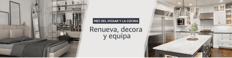 mes del hogar y la cocina en amazon mexico 800x200 Ofertas en línea blanca durante el mes del hogar y la cocina en Amazon México
