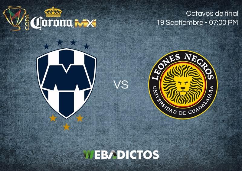 Monterrey vs Leones Negros UDG, Copa MX A2017   Suspendido - monterrey-vs-leones-negros-udg-copa-mx-apertura-2017