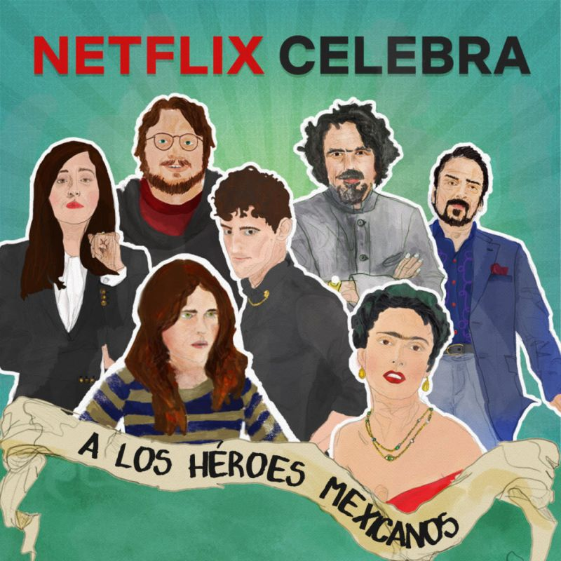 Netflix celebra a los nuevos héroes nacionales del entretenimiento - netflix-heroes-nacionales-800x800
