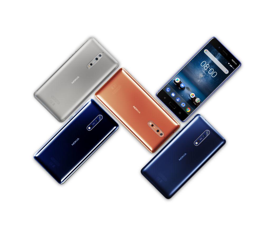 Nokia 8 llegará a México en octubre