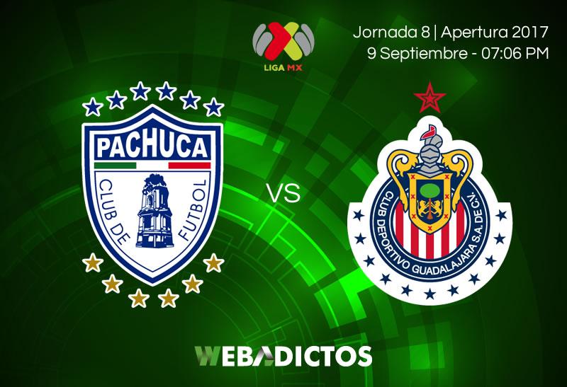 pachuca vs chivas j8 apertura 2017 Pachuca vs Chivas, J8 Liga MX Apertura 2017 | Resultado: 1 3