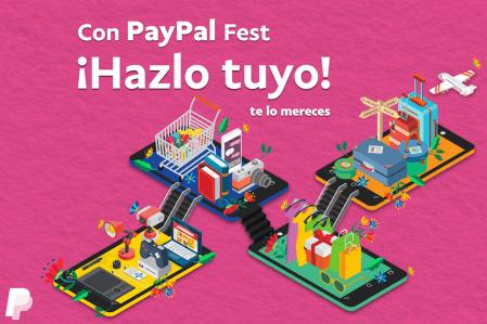 PayPal Fest 2017, descuentos y promociones únicas en comercio electrónico
