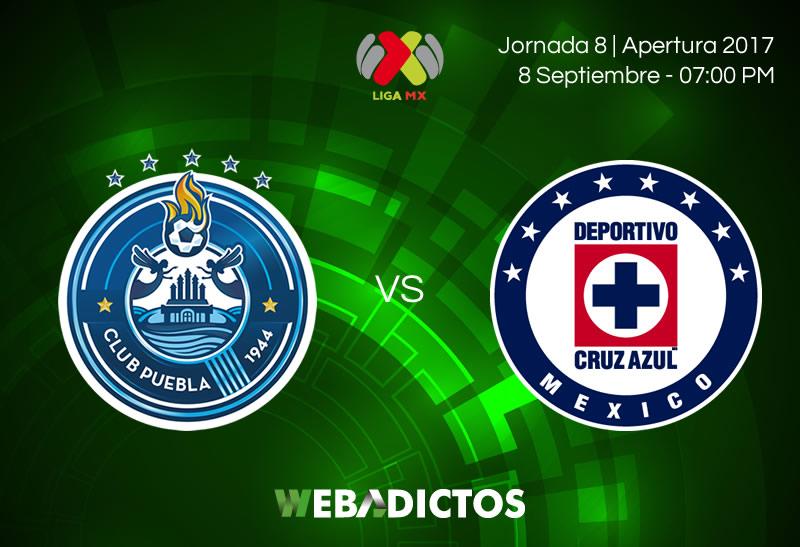 Puebla vs Cruz Azul, Jornada 8 de Liga MX A2017 | Resultado: 0-0 - puebla-vs-cruz-azul-j8-apertura-2017