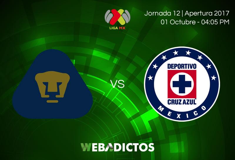 Pumas vs Cruz Azul, Jornada 12 del Apertura 2017 | Resultado: 1-4 - pumas-vs-cruz-azul-j12-apertura-2017-800x547