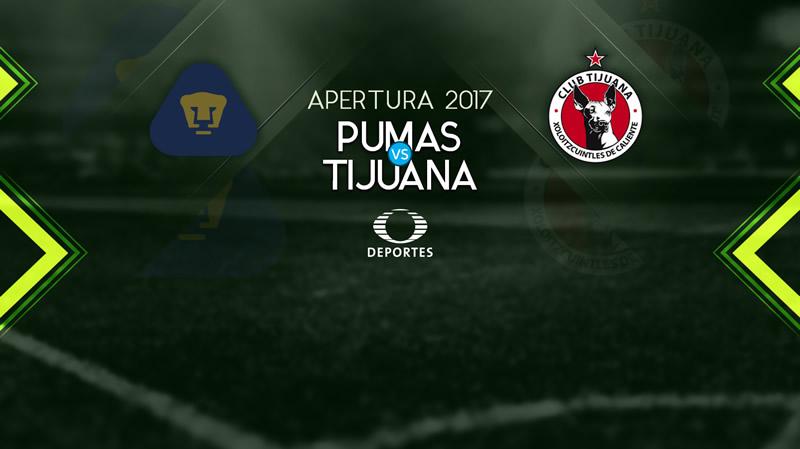 Pumas vs Tijuana en la Jornada 8 AP2017 | Resultado: 0-2 - pumas-vs-xolos-j8-apertura-2017