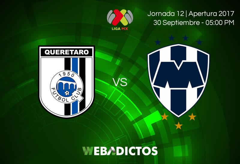 queretaro vs monterrey j12 apertura 2017 800x547 Querétaro vs Monterrey, J12 de la Liga MX A2017 | Resultado: 2 2