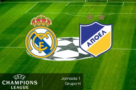 Real Madrid vs APOEL, Champions League 2017-2018 | Resultado: 3-0 | Jornada 1