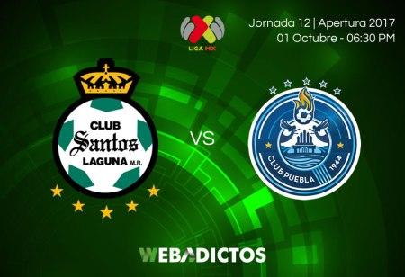 Santos vs Puebla, Jornada 12 Apertura 2017 | Resultado: 0-0