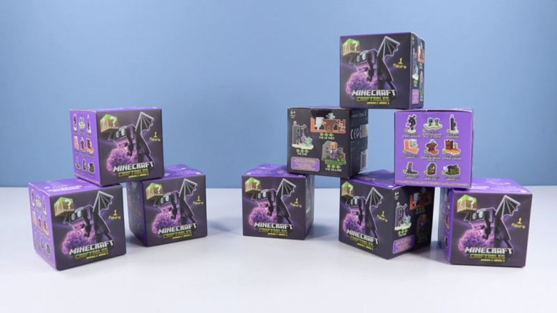 Llegaron los divertidos Craftables de Minecraft, Series 2 - segunda-serie-de-los-populares-coleccionables-minecraft-craftables_1-800x450