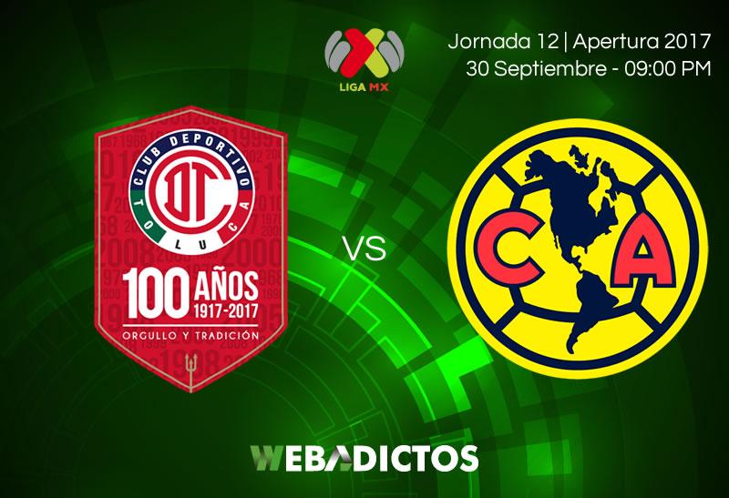 toluca vs america j12 apertura 2017 800x547 Toluca vs América, J12 Liga MX Apertura 2017 | Resultado: 1 2