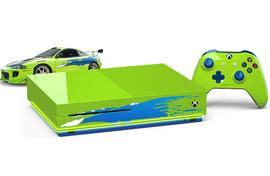 Xbox diseña consola Xbox One S inspirada en Paul Walker - xbox-one-s-paul