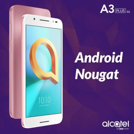 Alcatel A3 PLUS 3G disponible en México