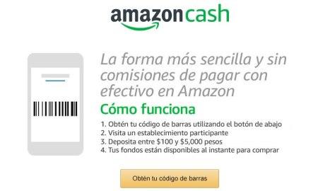 Pagar con efectivo en Amazon México ¡Ya es posible!