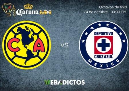 América vs Cruz Azul, Octavos de Copa MX A2017 ¡En vivo por internet!