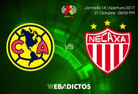 América vs Necaxa, Liga MX Apertura 2017 ¡En vivo por internet!