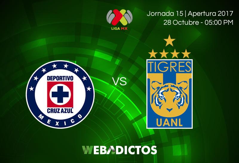 Cruz Azul vs Tigres, Jornada 15 del Apertura 2017   Resultado: 1-2 - cruz-azul-vs-tigres-jornada-15-apertura-2017-800x547