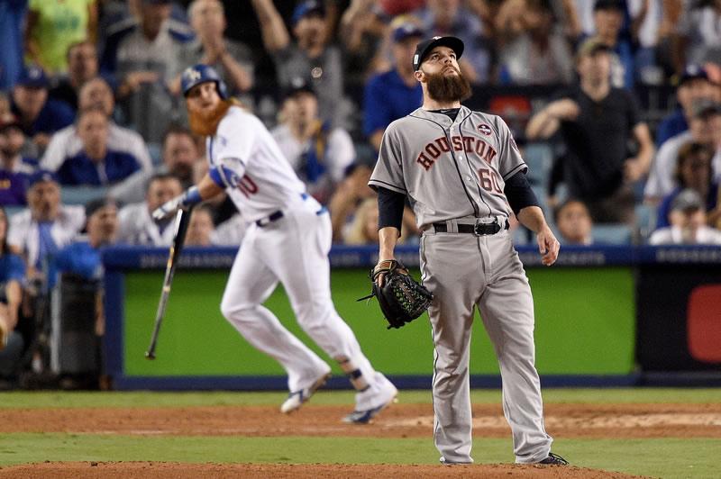 Dodgers vs Astros: Juego 3 Serie Mundial 2017 MLB   Resultado: 3-5 - dodgers-vs-astros-juego-3-serie-mundial-2017-800x532
