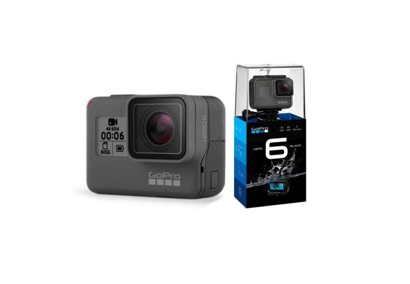 La nueva GoPro HERO 6 4k Black ¡ya disponible en Linio.cl! - gopro-hero-6-4k-black-camara-accion-800x554