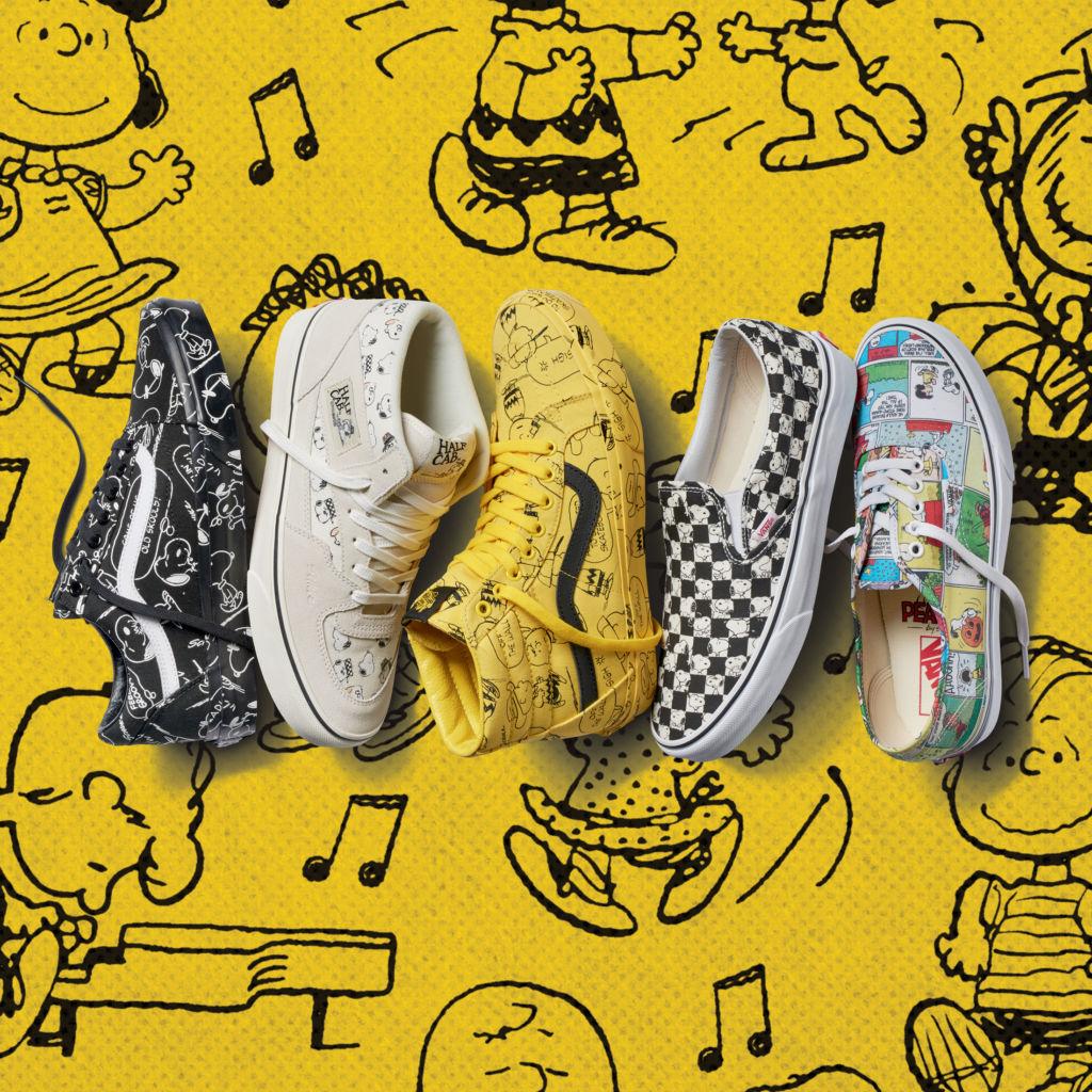 Colección Vans x Peanuts celebra las originales ilustraciones del comic de Charles M. Schulz - ho17_classics_peanuts_elevated_mens_lineup