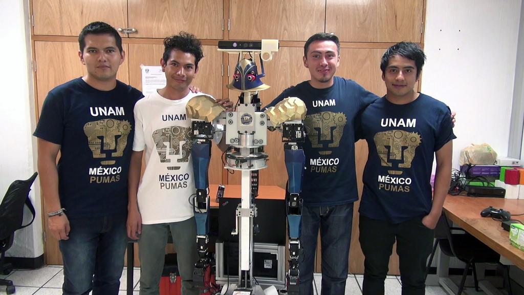 justina robot que recibe y ejecuta ordenes 1 Universitarios crean a Justina: robot que recibe y ejecuta órdenes