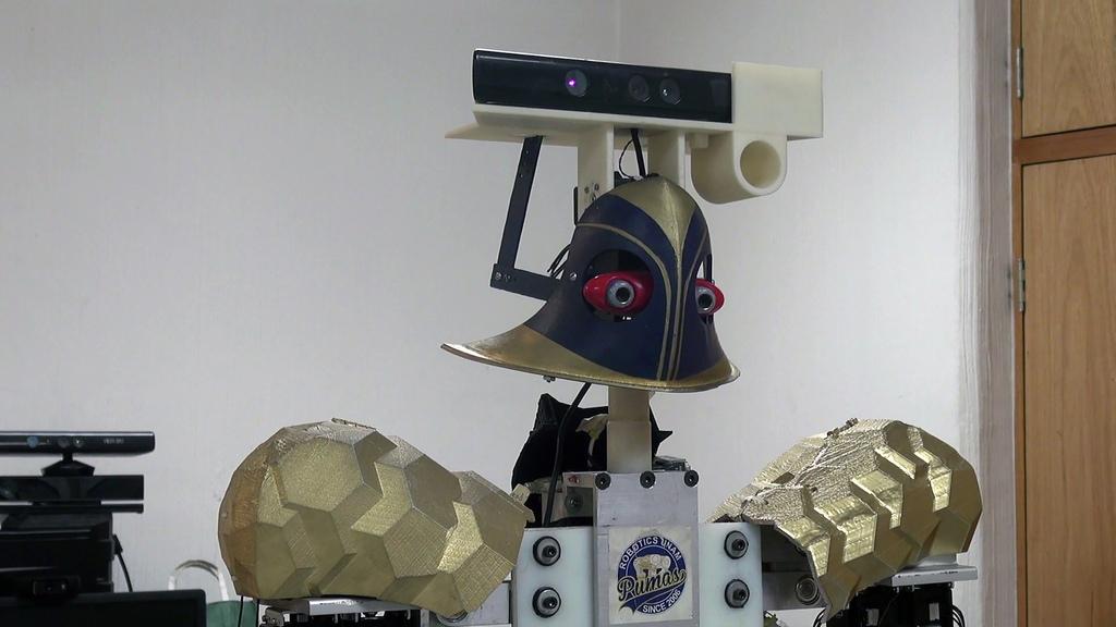 justina robot que recibe y ejecuta ordenes 2 Universitarios crean a Justina: robot que recibe y ejecuta órdenes