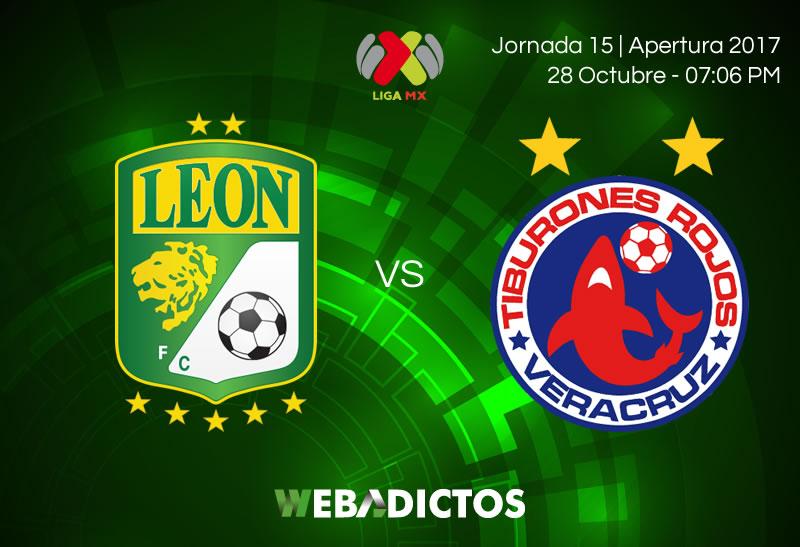León vs Veracruz, Fecha 15 del Apertura 2017 ¡En vivo por internet! - leon-vs-veracruz-jornada-15-apertura-2017-800x547