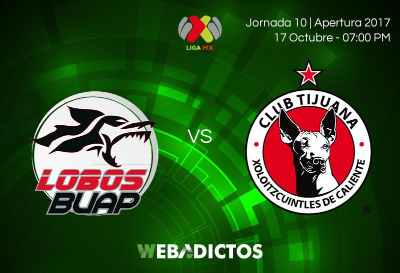 Lobos BUAP vs Tijuana, J10 Apertura 2017 | Resultado: 1-2 - lobos-buap-vs-tijuana-j10-apertura-2017-800x547