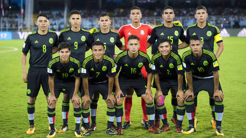Cae México 3-2 ante Inglaterra en Mundial Sub-17