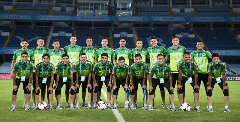 'Tri' Sub-17 rescata empate ante Irak en debut mundialista