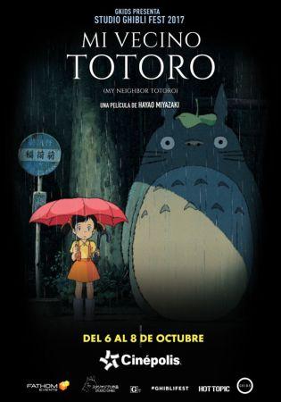 Cinépolis presentará colección de películas animadas más famosas del mundo - mi-vecino-totoro