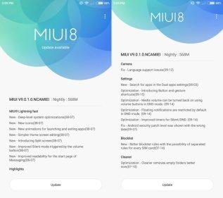 MIUI 9 llega esta semana: El Mi 6 y el Mi Max 2 ya reciben la actualización en forma nightly - mi6-m9-changelog-1