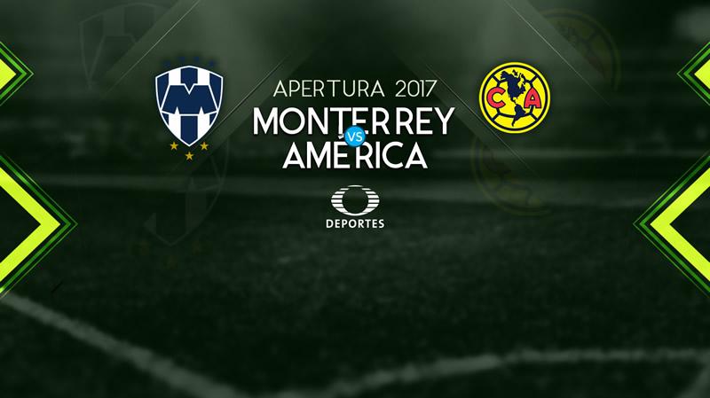 Monterrey vs América, J15 Liga MX Apertura 2017 ¡En vivo por internet! - monterrey-vs-america-televisa-deportes-15-apertura-2017-800x449