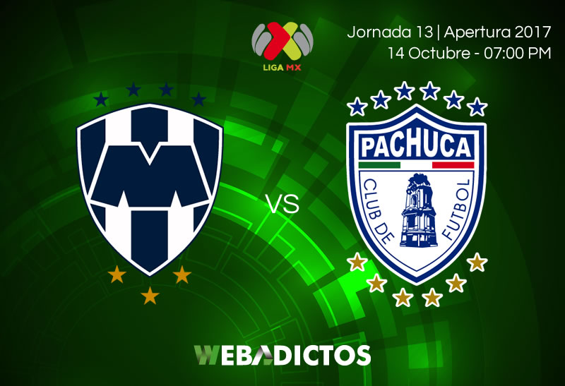 Monterrey vs Pachuca, J13 del Apertura 2017 | Resultado: 2-0 - monterrey-vs-pachuca-j13-apertura-2017-800x547