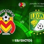 Morelia vs León, Jornada 14 de Liga MX A2017 ¡En vivo por internet!