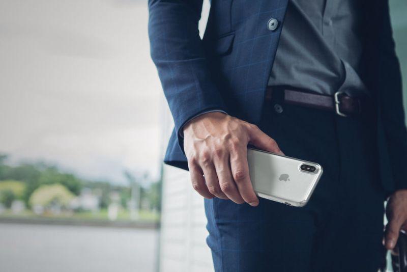 Nuevos accesorios sofisticados para iPhone 8, iPhone 8 Plus y iPhone X - moshi-accesorios-iphone-8-iphone-8-plus-y-iphone-x-vitros_jet_silver