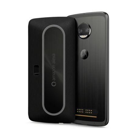 Motorola presenta un Moto Mod que incluye Amazon Alexa