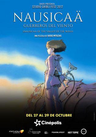 Cinépolis presentará colección de películas animadas más famosas del mundo - nausicaa-guerreros-del-viento