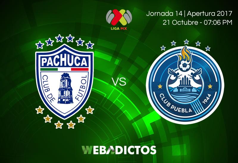 Pachuca vs Puebla, Fecha 14 del Apertura 2017 | Resultado: 1-0 - pachuca-vs-puebla-jornada-14-apertura-2017-800x547