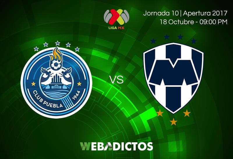 Puebla vs Monterrey, Jornada 10 Apertura 2017 | Resultado: 2-0 - puebla-vs-monterrey-j10-apertura-2017-800x547