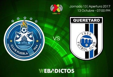 Puebla vs Querétaro, Jornada 13 Apertura 2017 | Resultado: 2-2