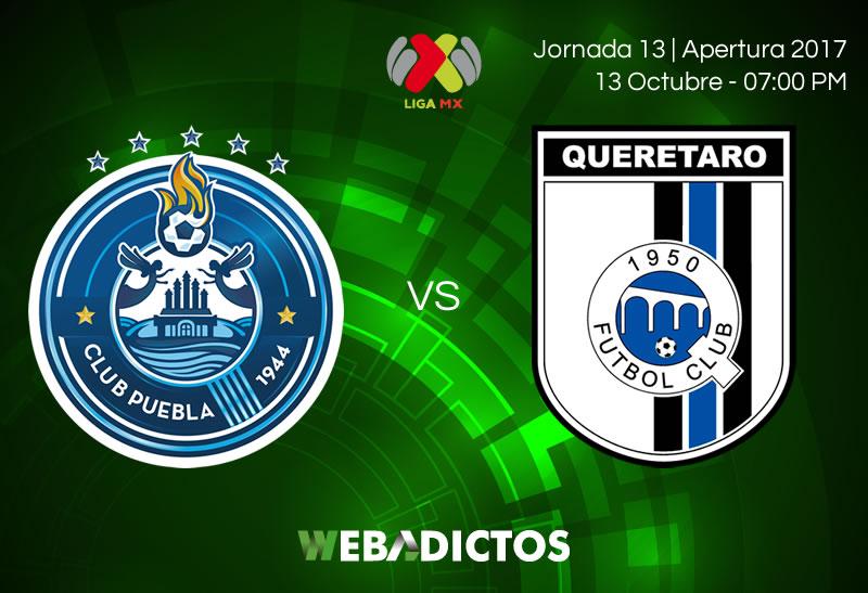 puebla vs queretaro j13 apertura 2017 800x547 Puebla vs Querétaro, Jornada 13 Apertura 2017 | Resultado: 2 2